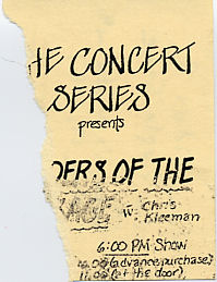New Riders of the Purple Sage, May 17, 1987