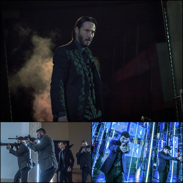John Wick: Chapter 2 Keanu Reeves as John Wick, Ruby Rose as Ares, Riccardo Scamarcio as Santino D'Antonio