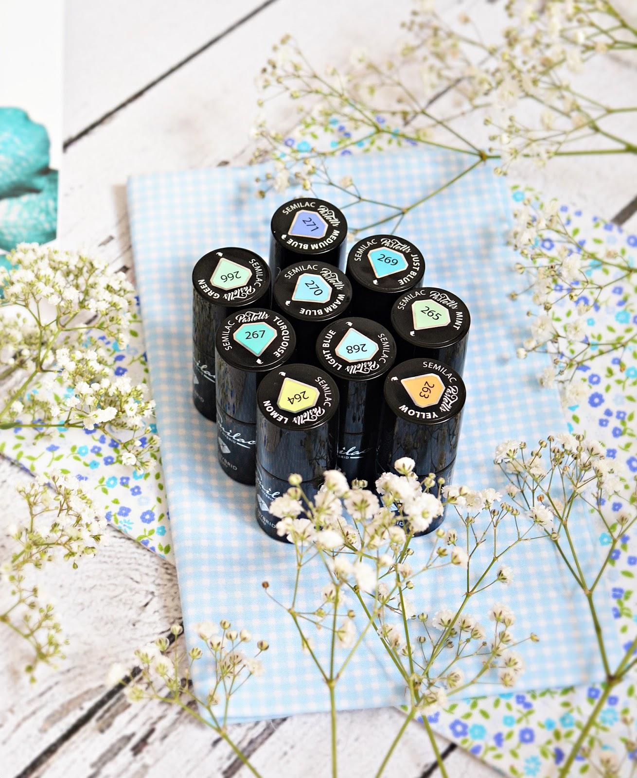 9 odcieni letniego szczęścia - Semilac kolekcja Pastells.