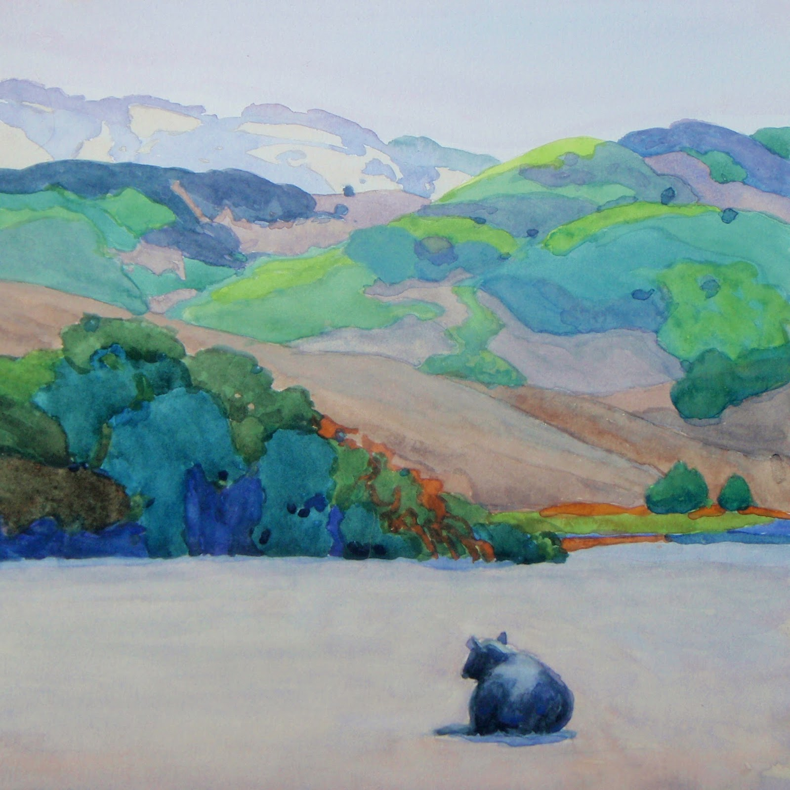 Russian River Valley Painting