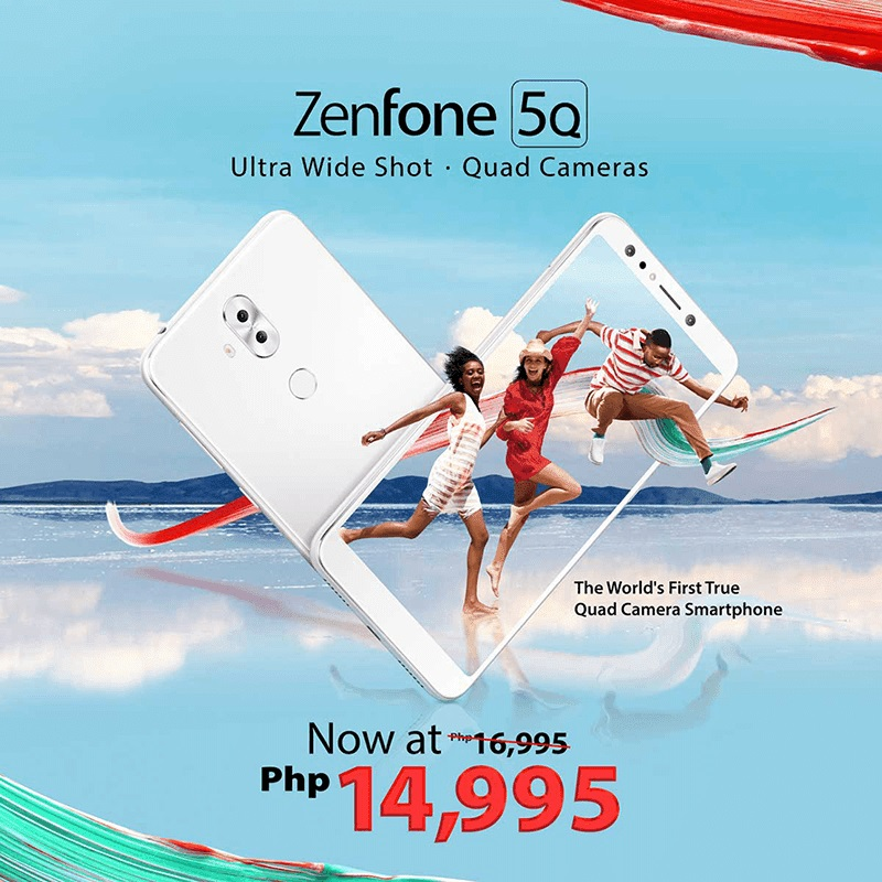 ASUS ZenFone 5Q Now Sells for only Php14,995!