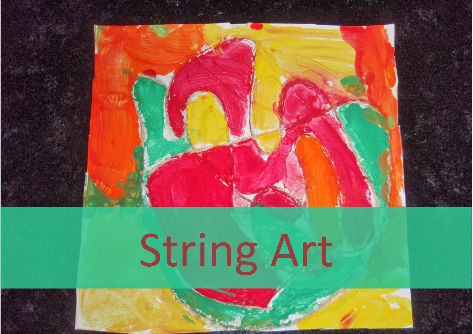 string art activity for kids