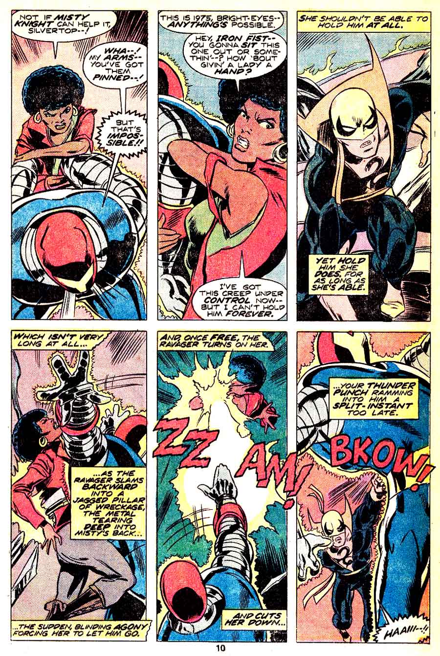 Iron Fist v1 #3 marvel bronze age comic book page art by John Byrne