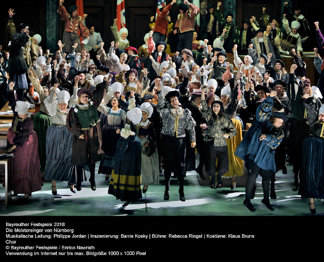 Wagner's Die Meistersinger von Nürnberg at the Bayreuth Festival (Photo Enrico Nawrath)