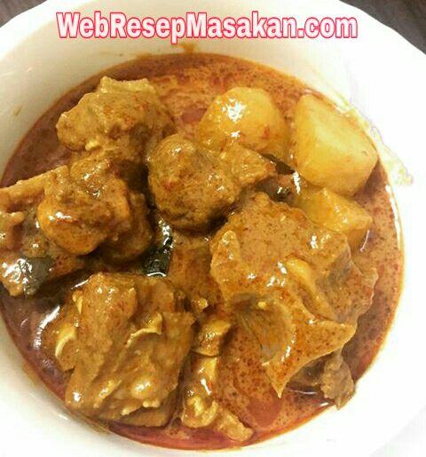Kari Daging Kambing, resep kari daging kambing,