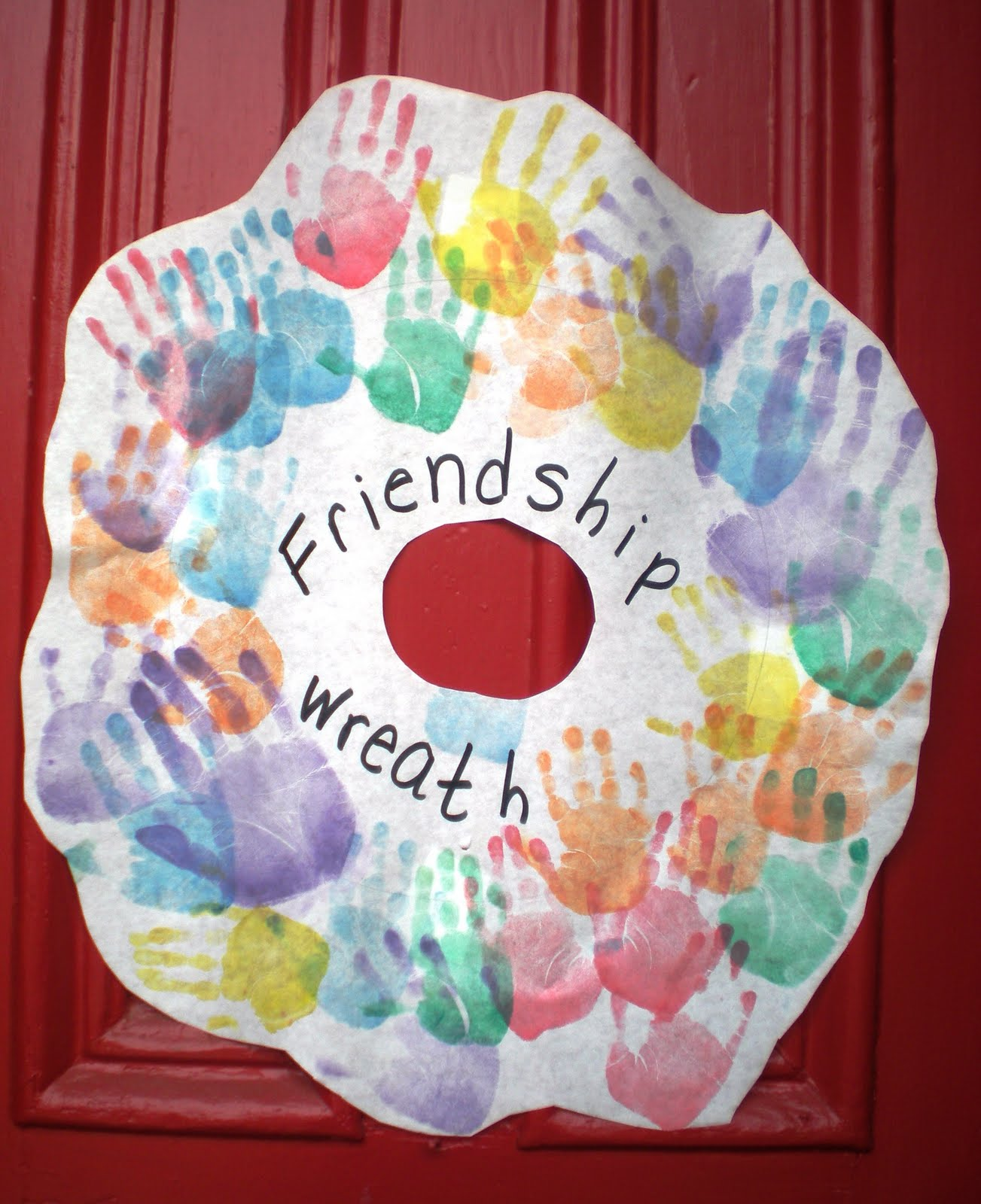 Friendship Art Projects For Toddlers Www Picsbud Com