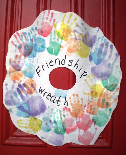 Preschool Friendship Art