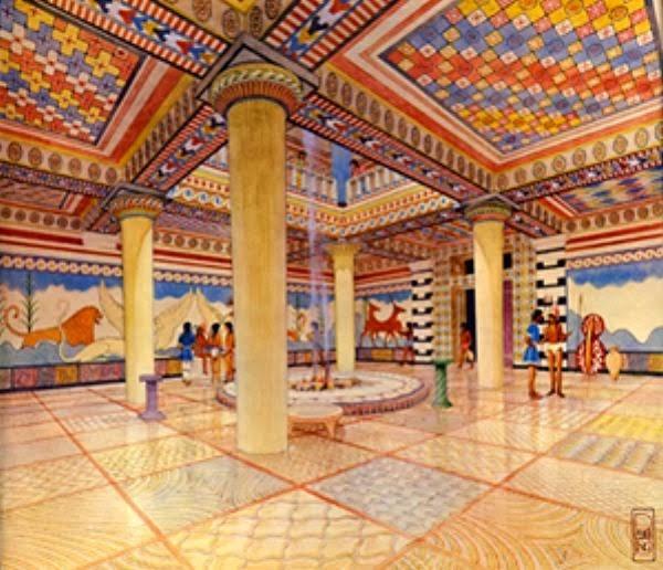 Οι μυκηναίοι Έλληνες χρησιμοποιούσαν επιδαπέδια ζωγραφική για διπλωματικούς σκοπούς