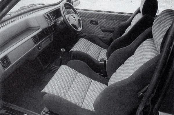 Interior Rover 114 GTi