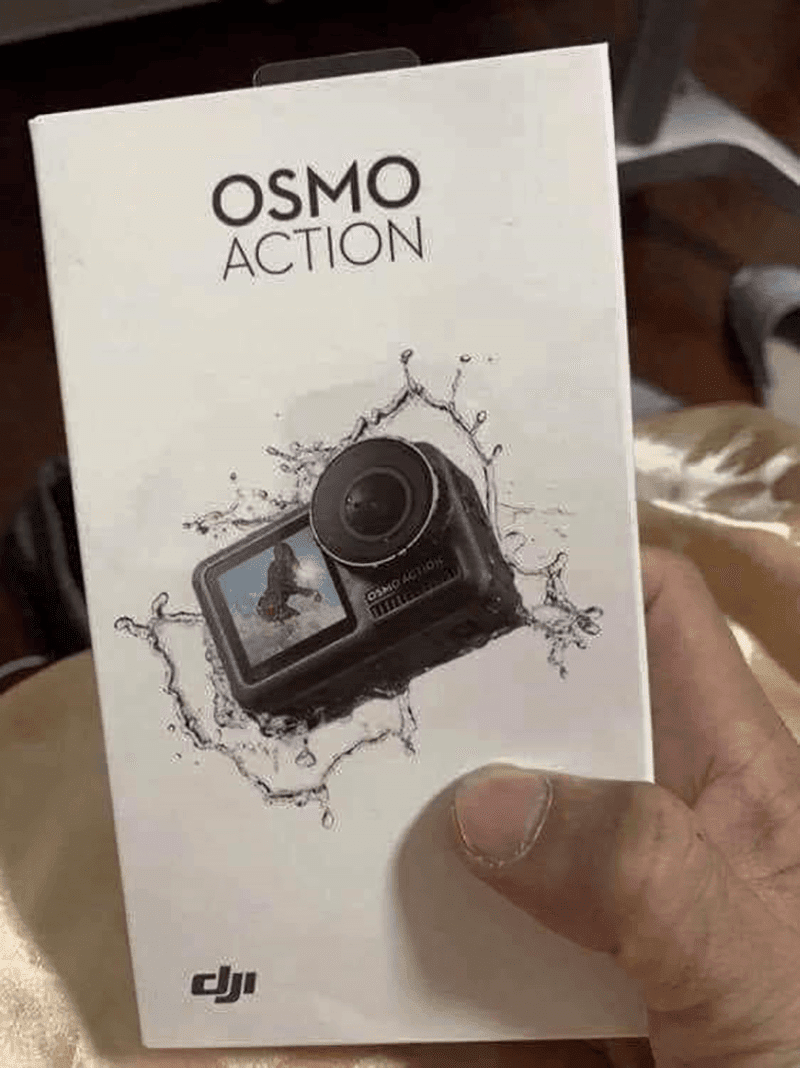 Alleged image of DJI Osmo Action 'GoPro Killer' leaks