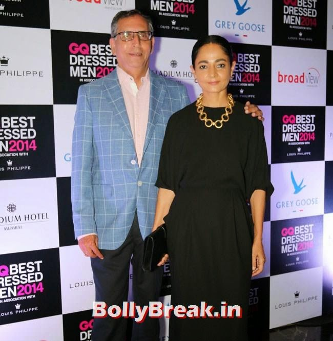Anil and Sabina Chopra