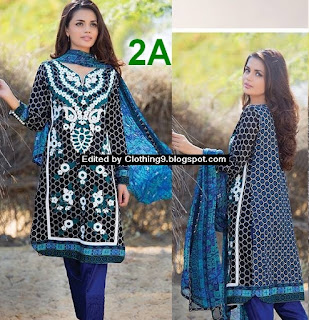 Shariq Libas Embroidered Lawn Collection 2016