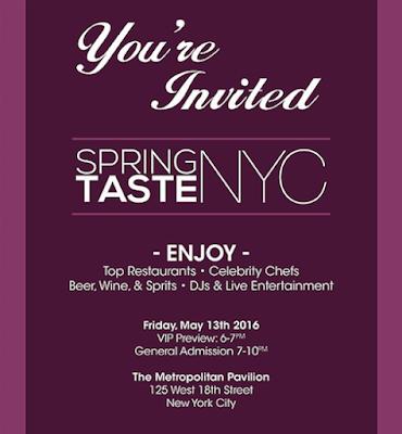 Spring Taste NYC 2016