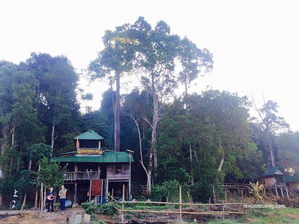 Trạm kiểm lâm Bàu Sấu, Rừng Nam Cát Tiên, Đồng Nai