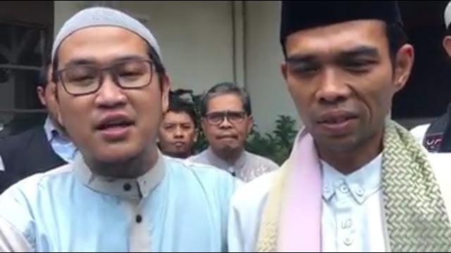 Bikin Nangis, Begini Suasana Pertemuan Ustadz Abdul Somad dan Ustadz Oemar Mita