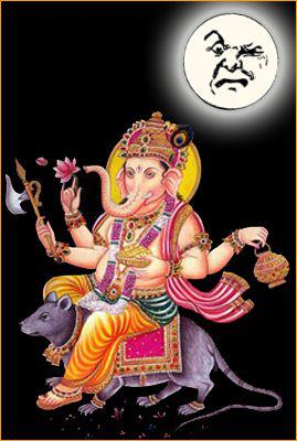 why you should not see moon on ganesh chaturthi Night