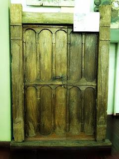 Porta de Casa de Igrejinha de 1849 no Museu Histórico de São Leopoldo