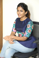 Eesha Looks super cute stunning in Denim Jeans and Top at Darsakudu movie Inerview ~  Exclusive 032.JPG