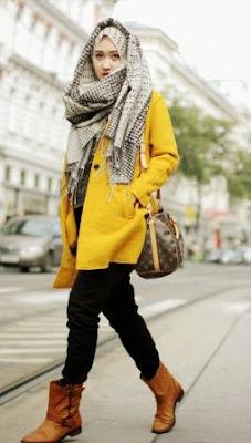 model fashion wanita kurus tinggi