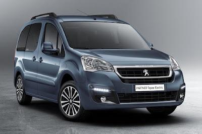 Peugeot Partner Tepee Electric (2018) Front Side