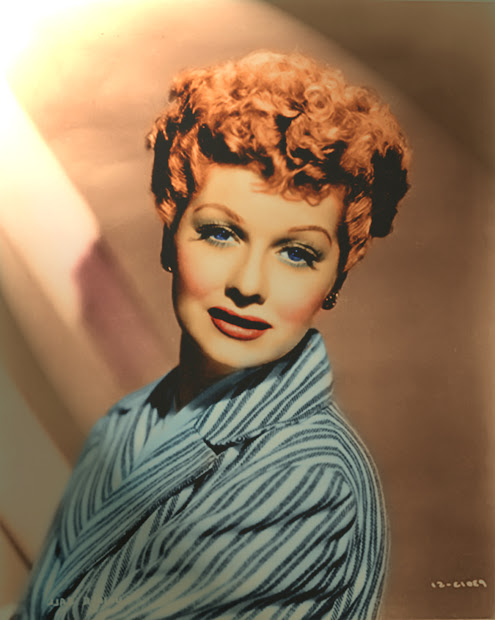 lucille ball color