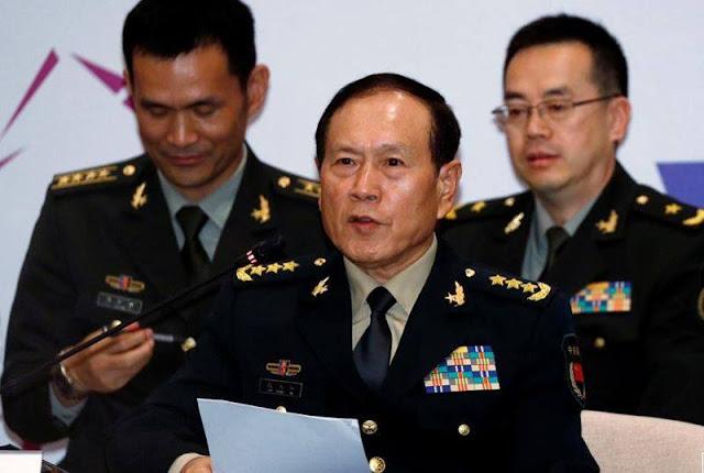 Tướng Ngụy Phượng Hòa, Bộ trưởng Quốc phòng Trung Quốc