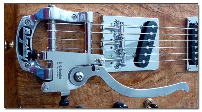 Sistema B-Bender para el Vibrato de Guitarra Bigsby