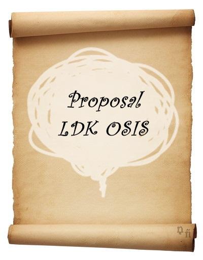 Contoh Proposal Ldk Osis Mofs