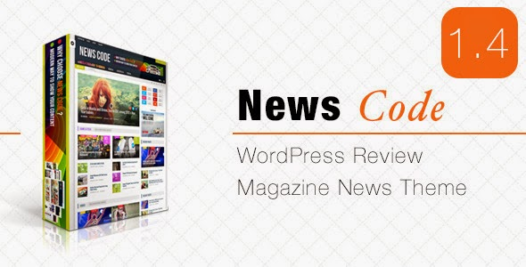 Newscode Review Magazine News - WordPress Themes