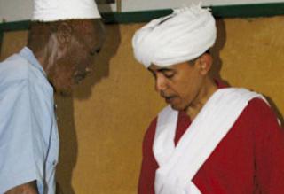 Obama Slams Smear Photo
