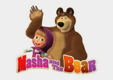Gambar Marsha and the Bear Kartun Lucu 3D Terbaru