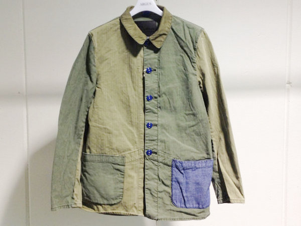 Wear Different Canton Combination French Work Jacket