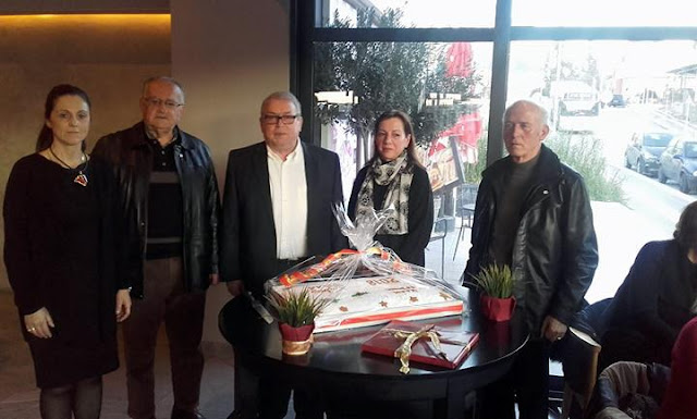 Ήγουμενίτσα: Την βασιλόπιτα έκοψε το Τοπικό Τμήμα του Ερυθρού Σταυρού Ηγουμενίτσας