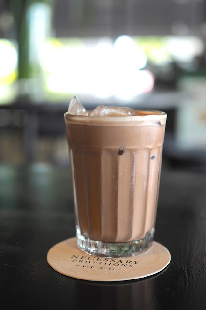 Necessary Provisions Iced Chocolate Food Review