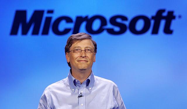Salah Satu Sebab Bill Gates Bos Microsoft Inc Kaya Raya