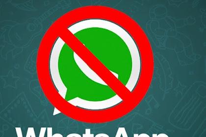 Anda diblock whatsapp ? Lakukan ini agar dapat kembali !