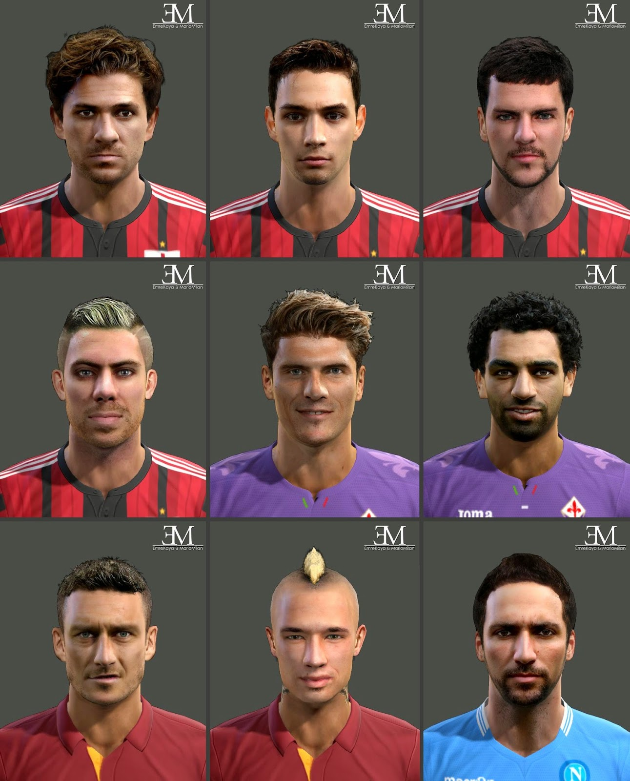Ultigamerz Pes 2010 Pes 2011 Face: PES-MODIF: April 2015