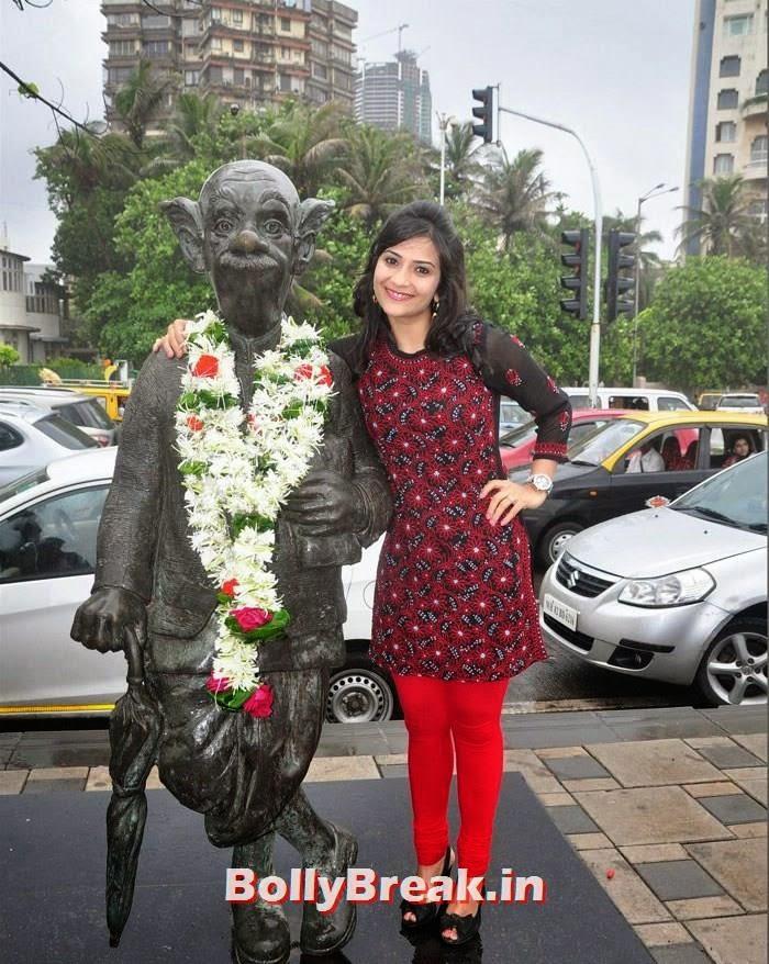 Aditi Sharma, Neha , Aditi Pics from Ekkees Toppon Ki Salaami Promotion