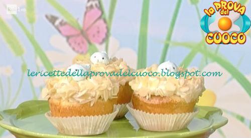 Ricetta dei Cupcake nido da La Prova del Cuoco