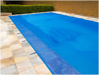 Capa tela para piscinas