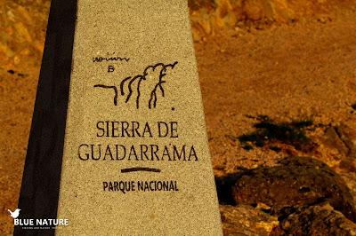 Entrada al Parque Nacional de Guadarrama. Blue Nature
