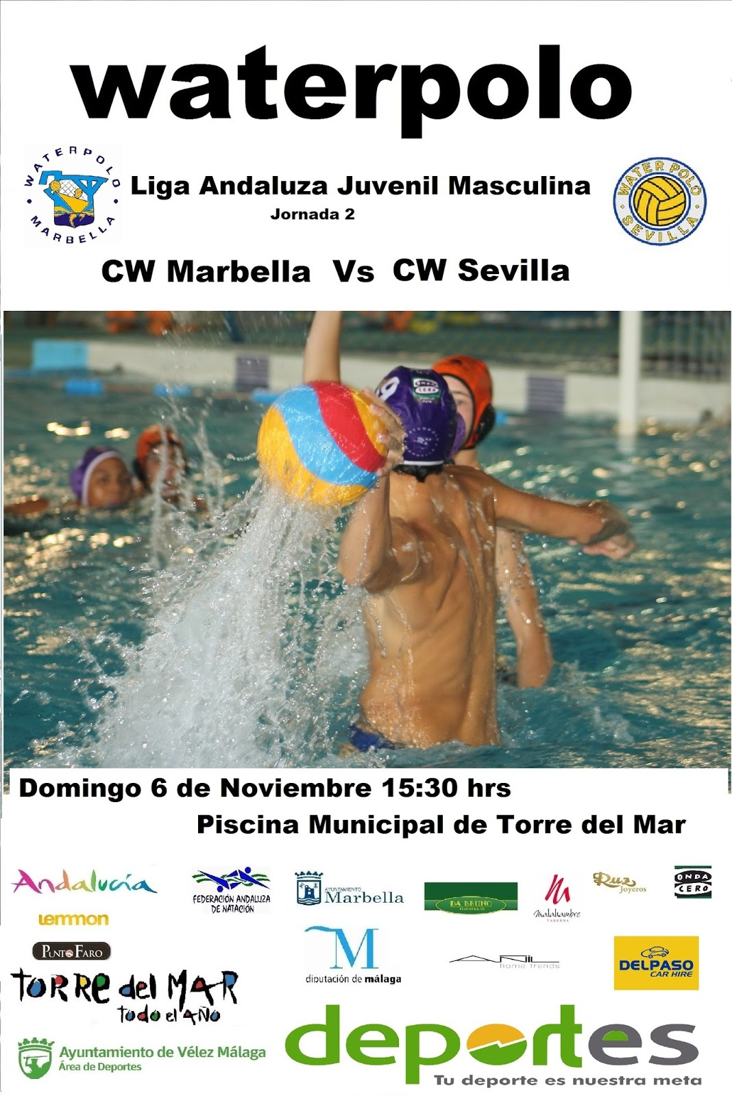 Waterpolo marbella - Piscinas de portugalete ...