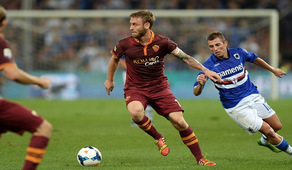 Prediksi Sampdoria vs AS Roma Liga Italia Serie A