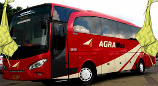 harga tiket lebaran 2016 Bus Agra Mas