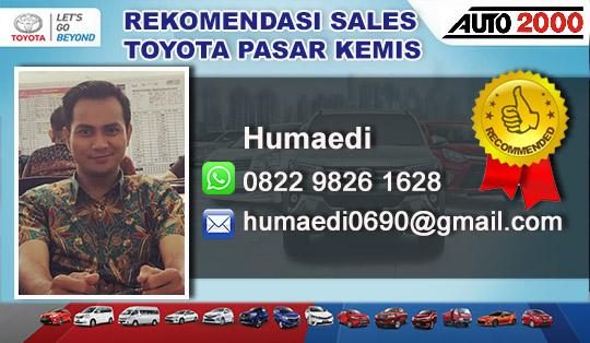 Rekomendasi Sales Toyota Pasar Kemis Tangerang