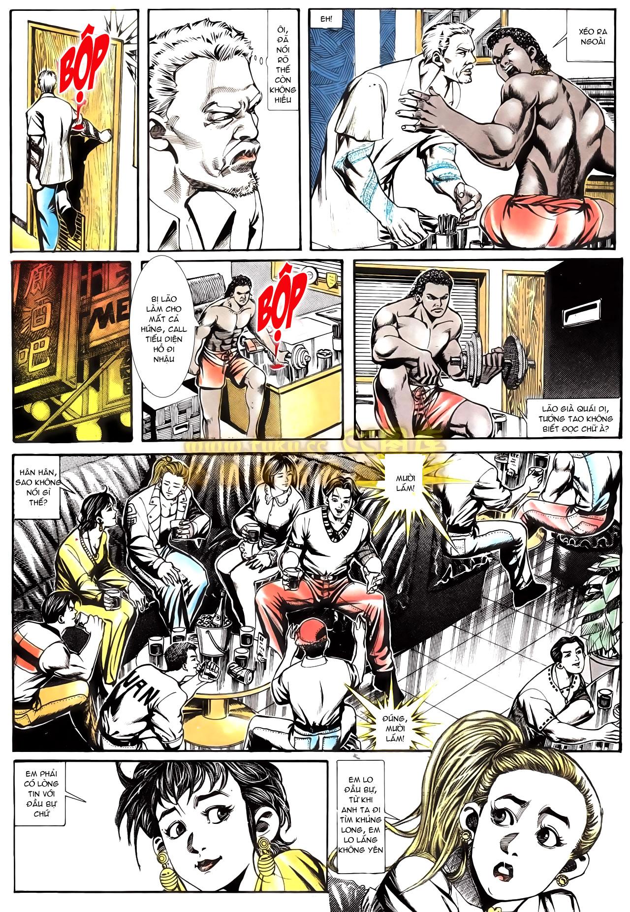 Người Trong Giang Hồ chapter 166: bùng nổ trang 17