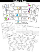 Geometry Math Centers Kinder
