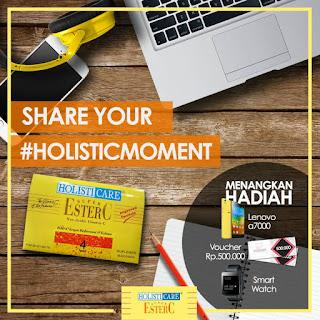 Info Kontes - Kontes Foto Holisticare #HolisticMoment  Berhadiah Smarphone Lenovo