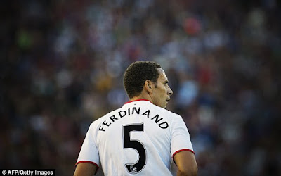 Rio Ferdinand jokes about getting back to work after seeing his old No 5 shirt is back up for grabs at Manchester United