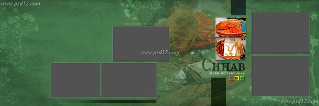 Evergreen 12x36 Album PSD Vol-4 | PSD12 |Graphic Design Ideas